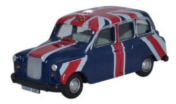 Oxford Diecast 76FX4006 FX4 Taxi Union Jack - 1:76